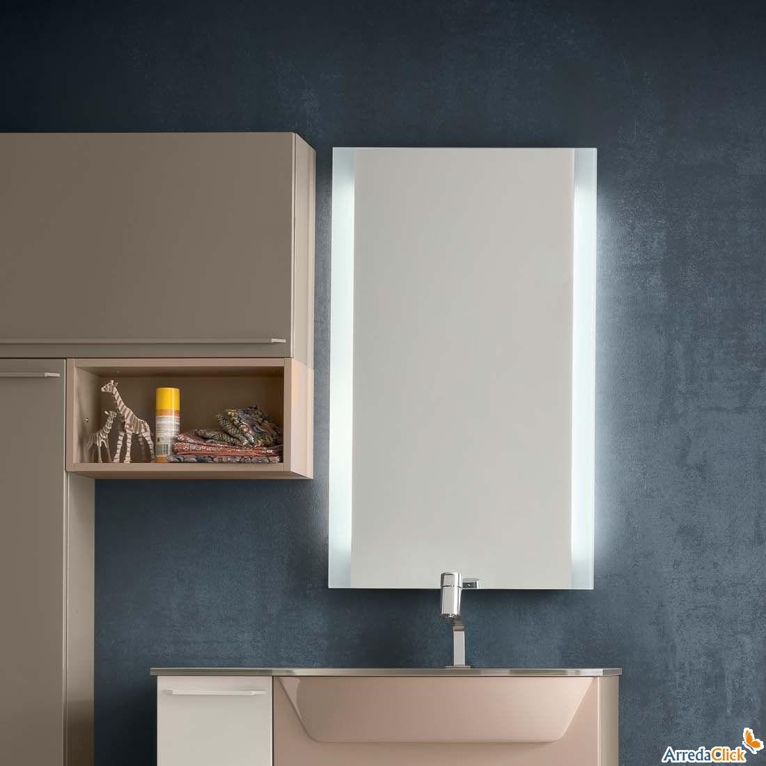 specchio per bagno rotondo: arredo bagno mobili lavabi e ... - Specchi Rotondi Per Bagno