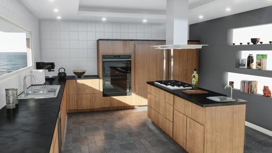 Il miglior materiale per il piano cucina | Il blog della casa
